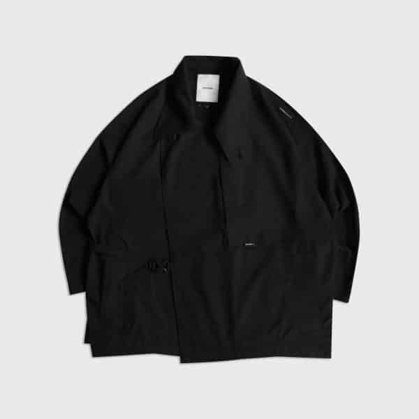 DYCTEAM-See-Through Trench Coat-Front