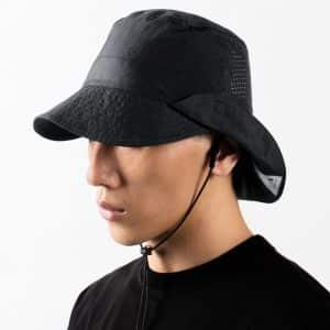 Nozzle Quiz – WK.P-02 D. Grey – Convertible Bucket Hat