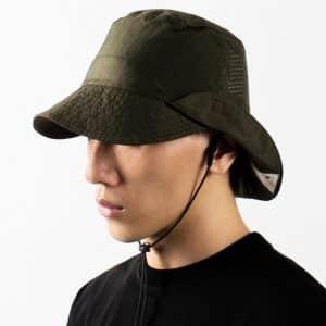 Nozzle Quiz – WK.P-02 Army- Convertible Bucket Hat